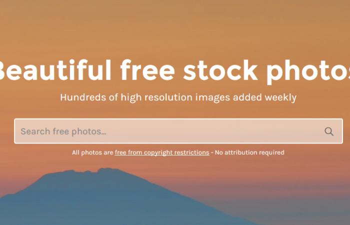 Stocksnap.io, des belles photos libres de droits