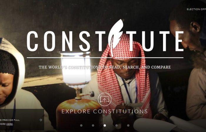 Toutes les constitutions du monde avec Google