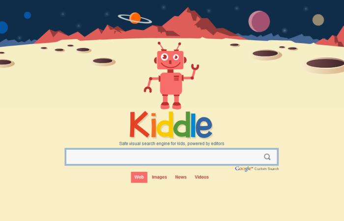 Kiddle, le moteur de recherche pour les enfants
