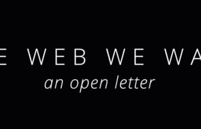 Le Web que nous voulons par Firefox