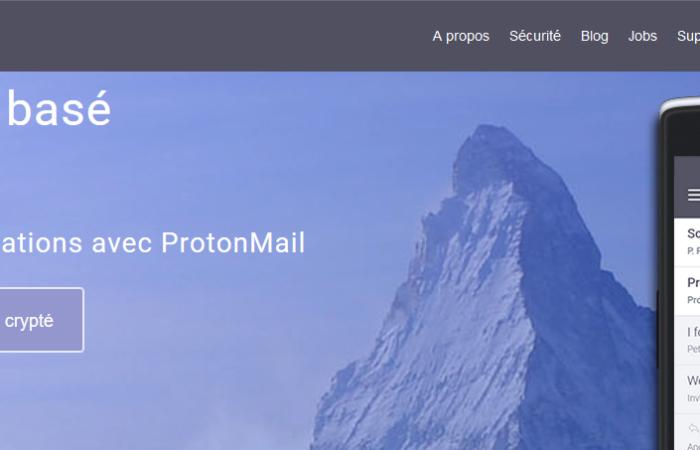 Protonmail, Email sécurisé et crypté par le CERN